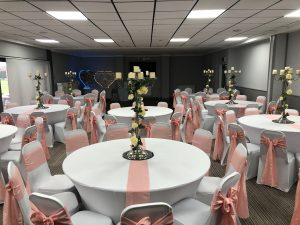 Wedding Pink Sashes Zoom 2