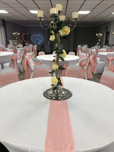 Wedding Pink Sashes Zoom